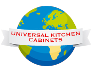 Universal Kitchen Cabinets | Surrey Logo